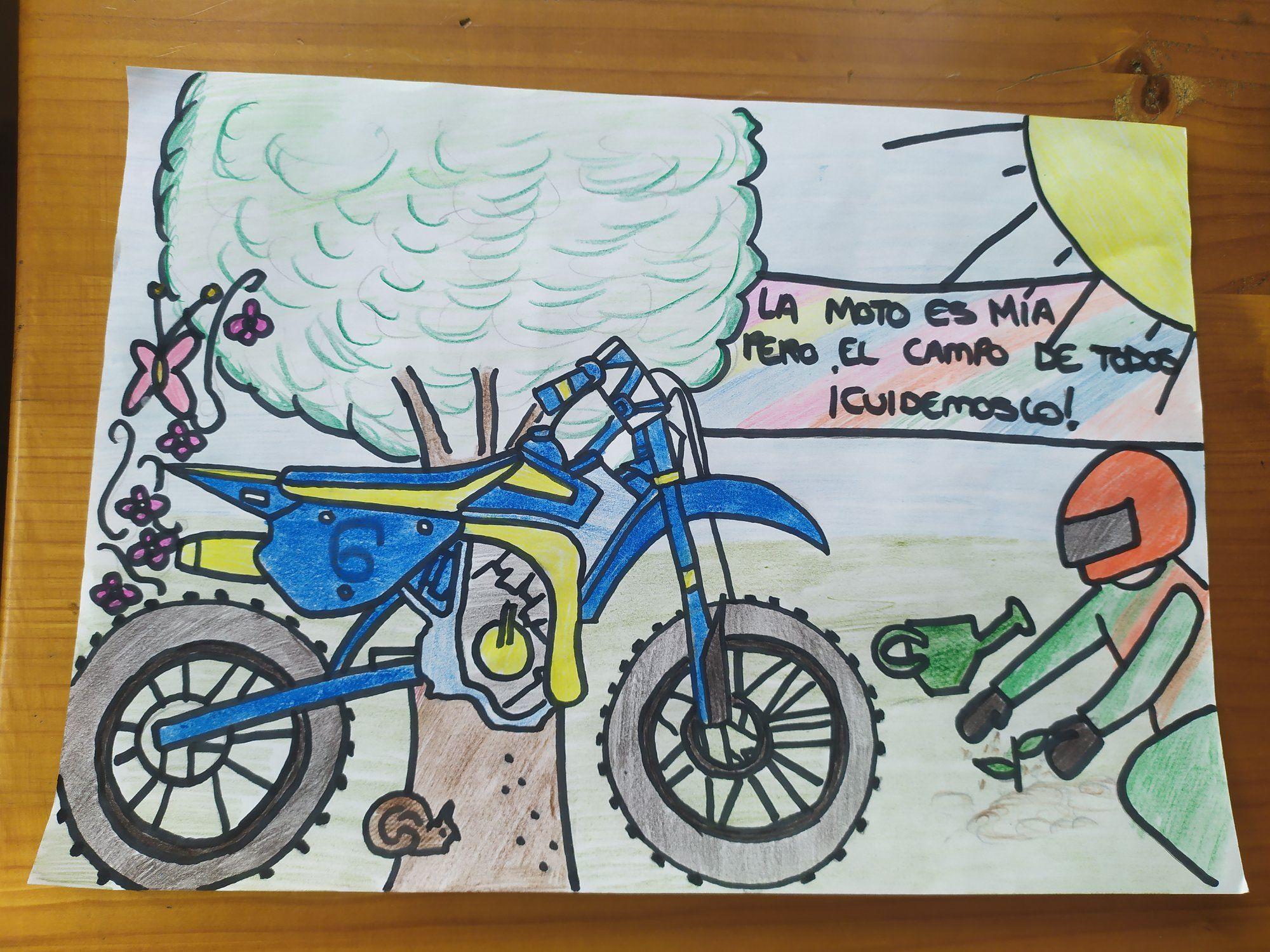 I Concurso de dibujo Moto de Campo Sostenible: ¡Los